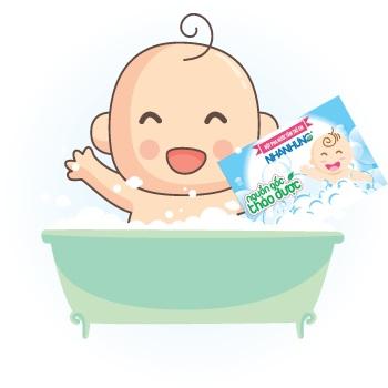 Bột tắm Nhân Hưng - Cũng là một trong những giải pháp tối ưu trị bệnh rôm sảy