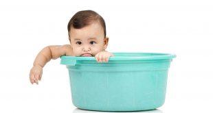 Mẹ cần tạo thói quen tắm rửa cho trẻ ngay từ khi còn nhỏ